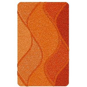 Kleine Wolke Badteppich, Orange, Polyacryl 60 x 60 cm