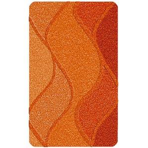 Kleine Wolke Badteppich, Orange, Polyacryl 70 x 120 cm