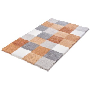 Kleine Wolke Badteppich, Orange, Polyacryl 85 x 150 cm