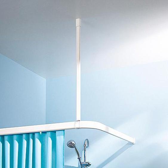 Kleine Wolke Deckenträger, Länge 60 cm Ø 2,5 weiß Gardinenstangenhalter Zubehör für Gardinen Vorhänge Deckenträger