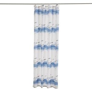 Kleine Wolke Duschvorhang ,Blau ,Polyester