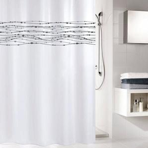 KLEINE WOLKE Duschvorhang »Noblesse«, Breite 180 cm