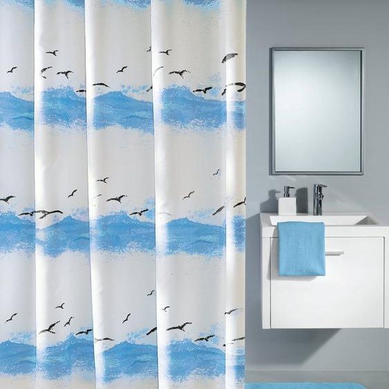 KLEINE WOLKE Duschvorhang »Seaside«, 240 cm Breite