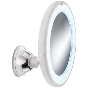 KLEINE WOLKE Kosmetikspiegel »Flexy Light«, Ø 17,5 cm