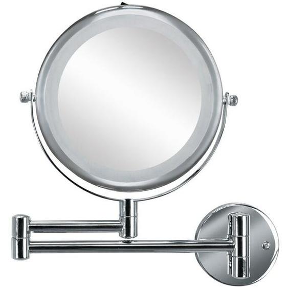 Kleine Wolke Kosmetikspiegel, Silber, Metall