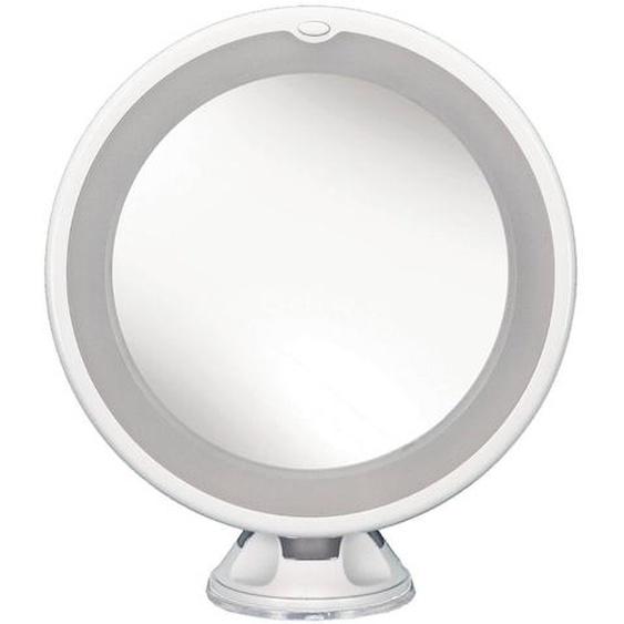 Kleine Wolke Kosmetikspiegel, Weiß, Kunststoff