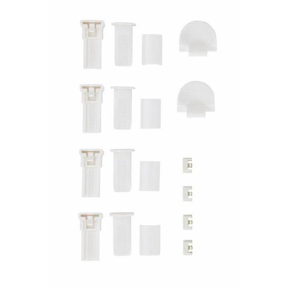 Klemmträger »Montagezubehör-Set«, my home, Plissees, (Set, 4-tlg), für Plissee