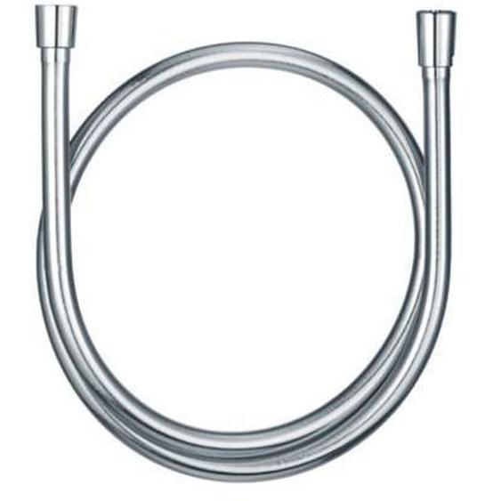 Kludi Suparaflex SILBER Brauseschlauch Metalleffekt, konischen Muttern chrom, 6107105-00
