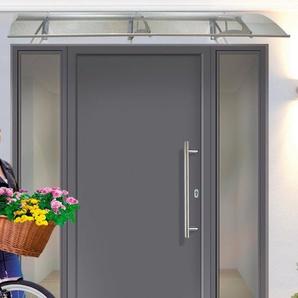 KM MEETH ZAUN GMBH Aluminium-Haustür »A01«, BxH: 98x208 cm, anthrazit, in 2 Varianten
