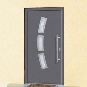 KM MEETH ZAUN GMBH Aluminium-Haustür »A07«, BxH: 98x208 cm, anthrazit, in 2 Varianten
