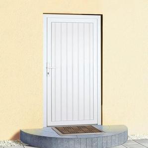 KM MEETH ZAUN GMBH Mehrzweck-Haustür »K608P«, BxH: 108 x 203 cm, weiß, in 2 Varianten