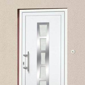 KM MEETH ZAUN GMBH Kunststoff-Haustür »K640«, BxH: 108x208 cm, weiß, in 2 Varianten