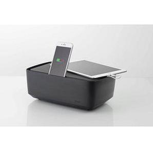 KMP Protective Box 3-fach Steckdosenleiste mit Schalter schwarz