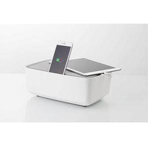 KMP Protective Box 3-fach Steckdosenleiste mit Schalter weiß