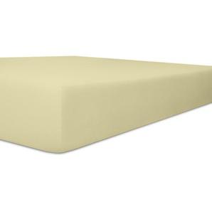 Kneer Vario Stretch Spannbetttuch Qualität 22 Topper Oneflex Natur