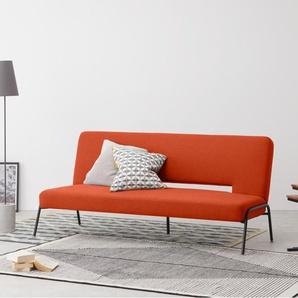 Knox Schlafsofa, Retro-Orange