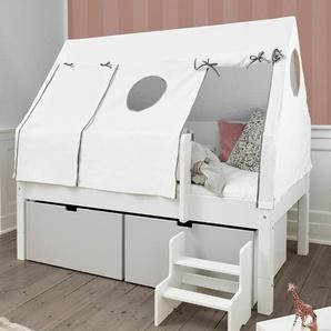 Kinderbett 90x200 cm, weiß deckend, weitere Farben & Größen bei BETTEN.de