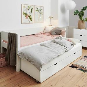 Kinderbett 140x200 cm, weiß, weitere Farben & Größen bei BETTEN.de