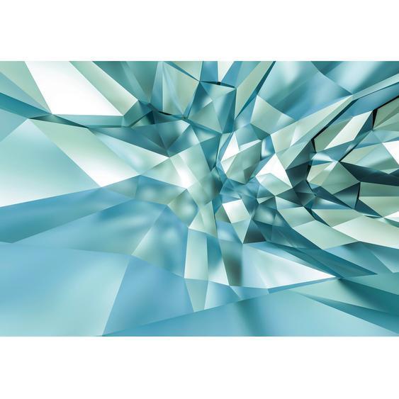 Komar Fototapete 3D Crystal Cave 368 cm x 254 cm