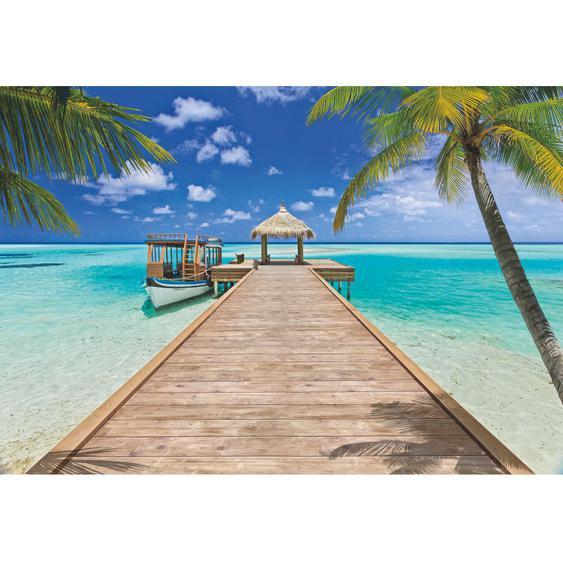 Komar Fototapete Beach Resort 368 cm x 254 cm