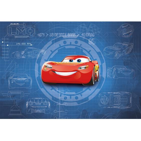 Komar Fototapete Cars 3 Blueprint 368 cm x 254 cm