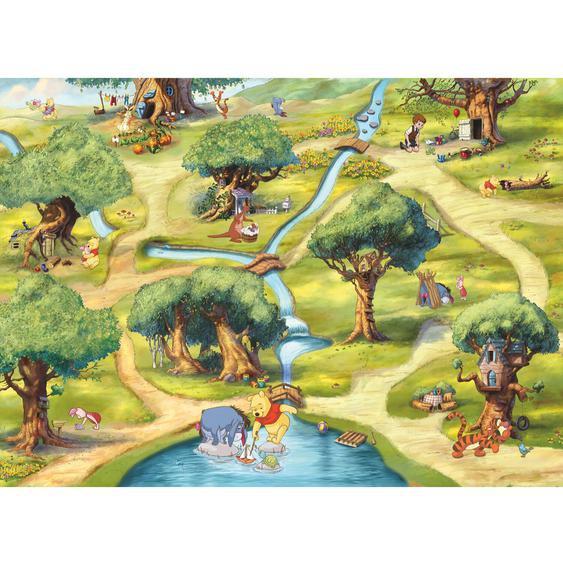 Komar Fototapete Disney Hundertmorgenwald 254 cm x 184 cm