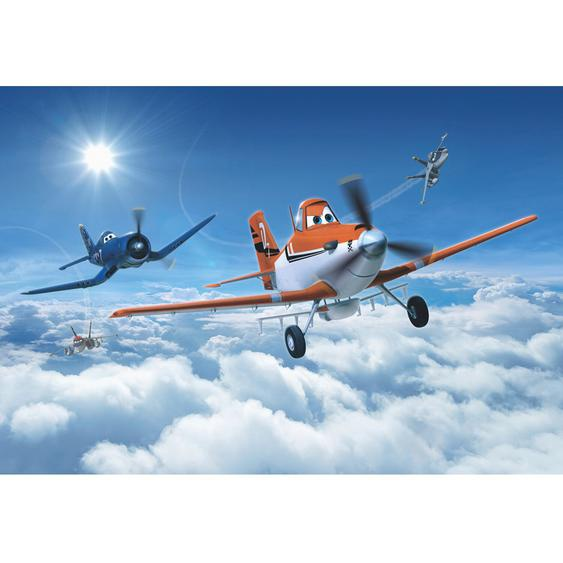 Komar Fototapete Disney Planes above the Clouds 368 cm x 254 cm