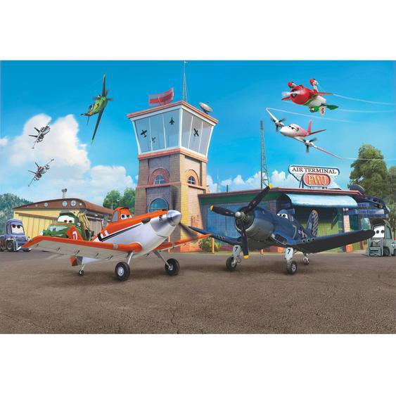 Komar Fototapete Disney Planes Terminal 368 cm x 254 cm