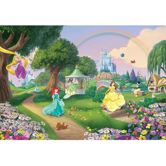 Komar Fototapete Disney Princess Rainbow 368 cm x 254 cm