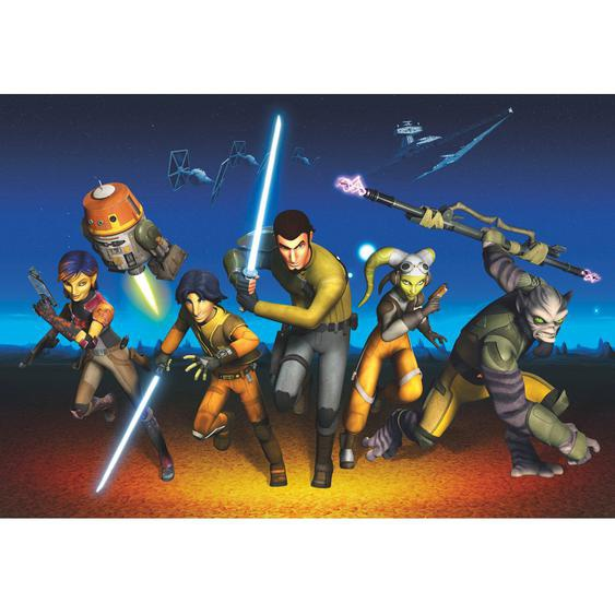 Komar Fototapete Disney Star Wars Rebels Run 368 cm x 254 cm