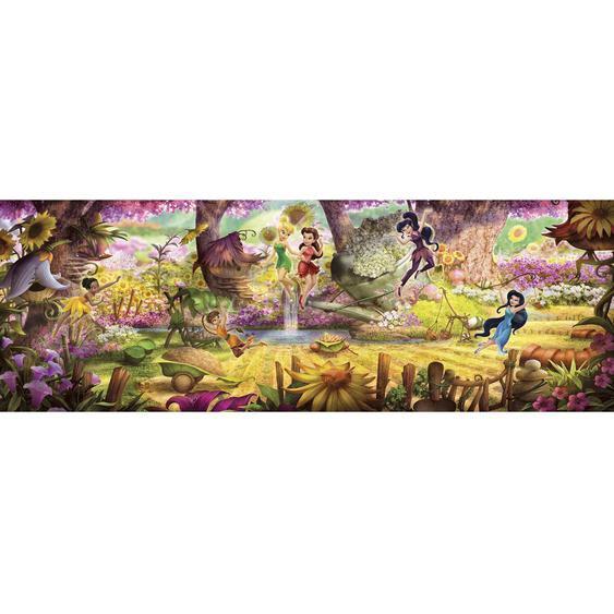 Komar Fototapete Faries Forest 368 cm x 127 cm