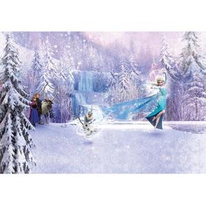 Komar Fototapete Frozen Forest 368 cm x 254 cm