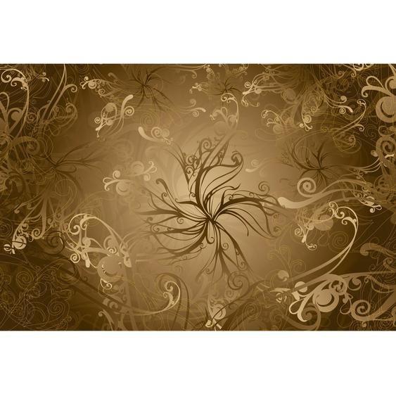 Komar Fototapete Gold 368 cm x 254 cm