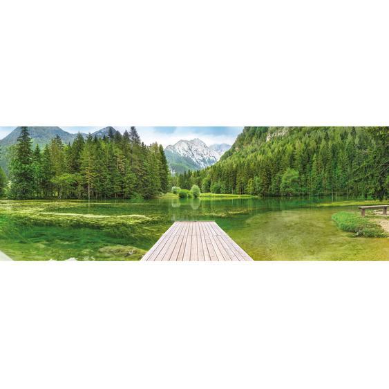 Komar Fototapete Green Lake 368 cm x 127 cm