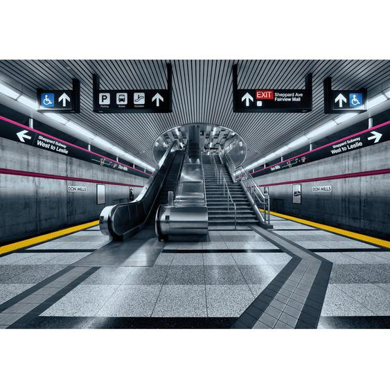 Komar Fototapete Subway 368 cm x 254 cm