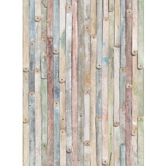 Komar Fototapete Vintage Wood 184 cm x 254 cm