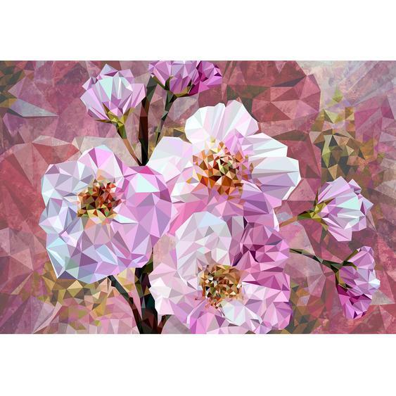 Komar Fototapete Vlies Blooming Gems 368 cm x 248 cm