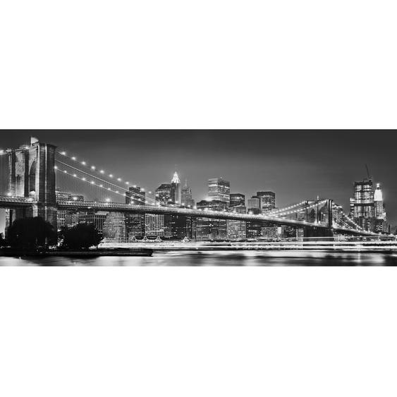 Komar Fototapete Vlies Brooklyn Bridge 368 cm x 124 cm