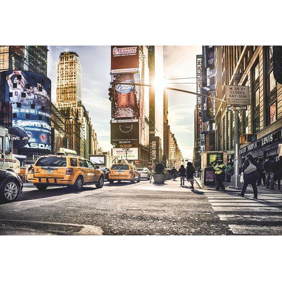 Komar Fototapete Vlies Times Square 368 cm x 248 cm