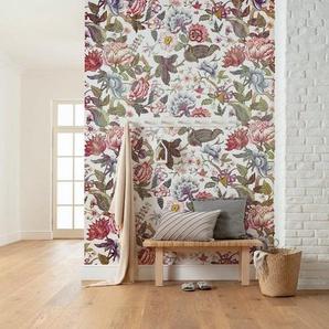 Komar Fototapete »Vliestapete Fleurs de Rêve«, glatt, bedruckt, geblümt, floral, realistisch, 200 x 280 cm