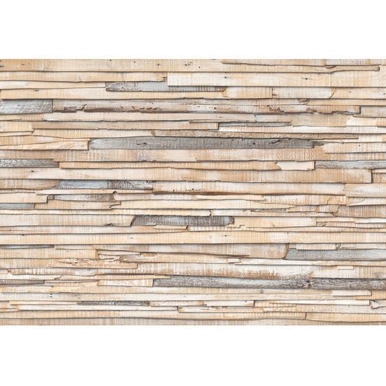 Komar Fototapete Whitewashed Wood 368 cm x 254 cm