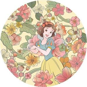 Komar Vlies Fototapete Snow White Endless Summer Selbstklebend Ø 125 cm