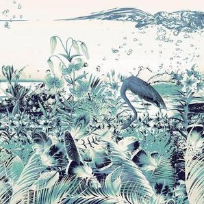 Komar Vliestapete »Fantasia Cool«, glatt, naturalistisch