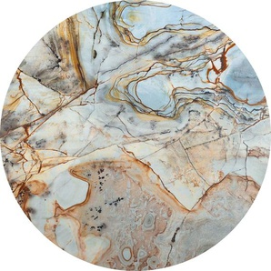 Komar Vliestapete Marble Sphere, abstrakt-Steinoptik B/L: 125 m x m, 1 St. bunt Vliestapeten Tapeten Bauen Renovieren