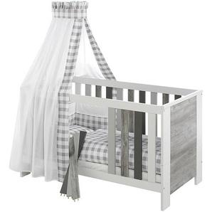 Kombi-Kinderbett Woody Grey