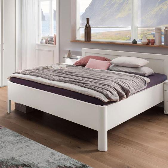 Komfort-Doppelbett Cavallino, weiß, 180x200 cm