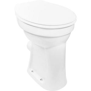 Komfort-Stand Flachspül-WC CORNAT