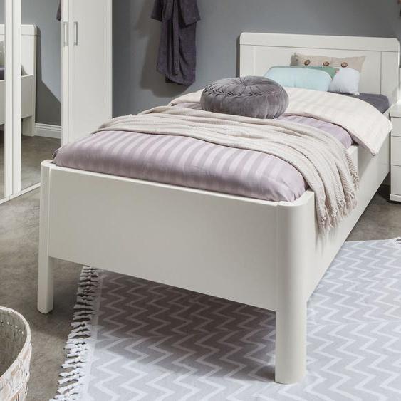 Komfortbett Cavallino, weiß, 90x200 cm
