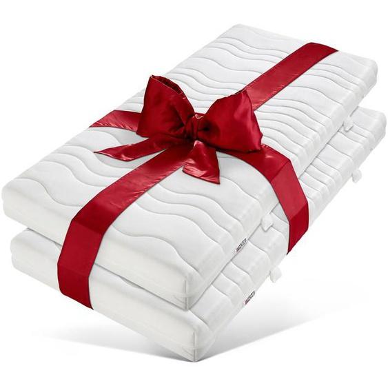 Komfortschaummatratze »7-Zonen«, my home, 16 cm hoch, Raumgewicht: 30, (1 oder 2-tlg), Preisgünstig im Super-Spar-Set - alle Größen = 1 Preis!