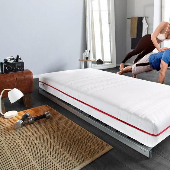Komfortschaummatratze »HKS 2100«, BeSports, 21 cm hoch, Machen Sie sich fit und gesund, Tag und Nacht